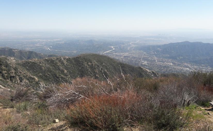 Ascending to Mt.Lukens
