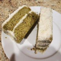 Matcha cake with white chocolate cream (Eat around the World challenge)