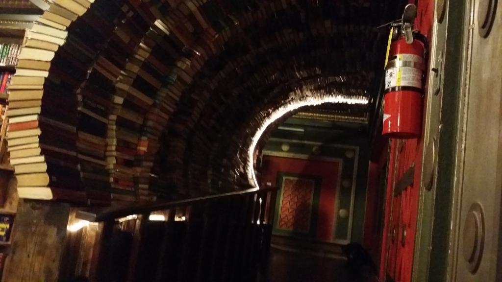 book tunnel the last bookstore