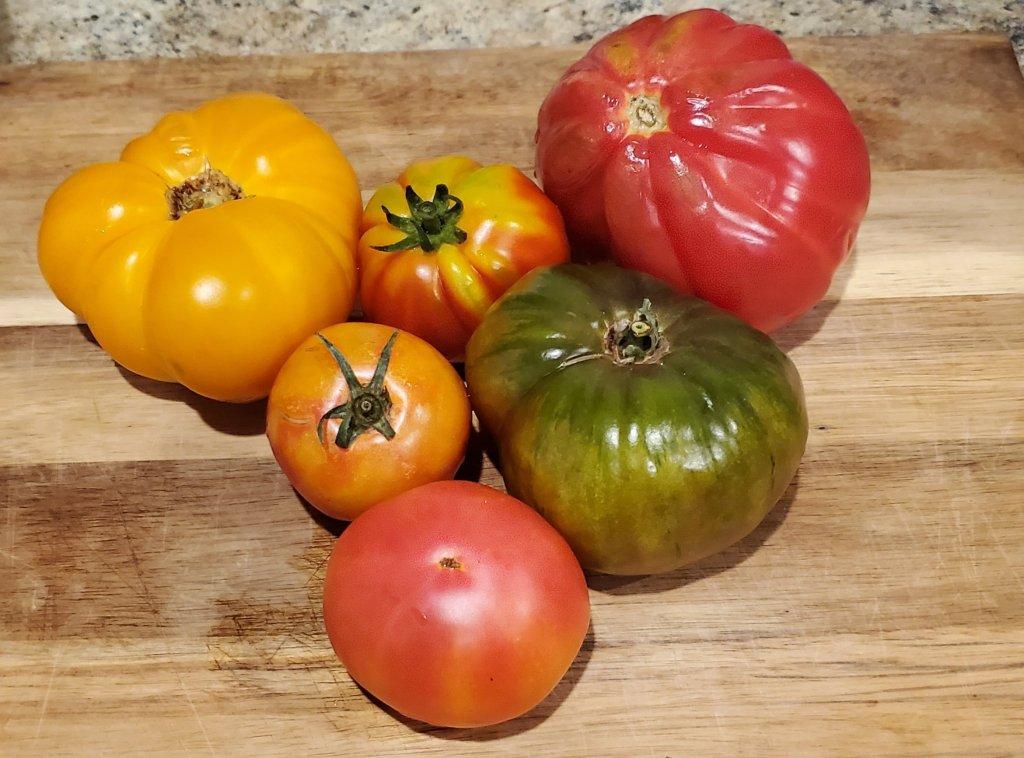 Heirloom Tomato heart