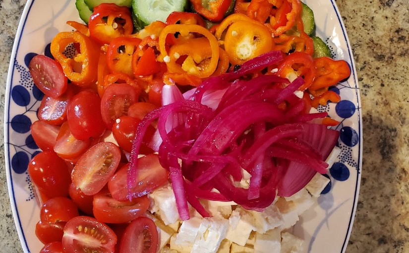 Simple tomato dishes