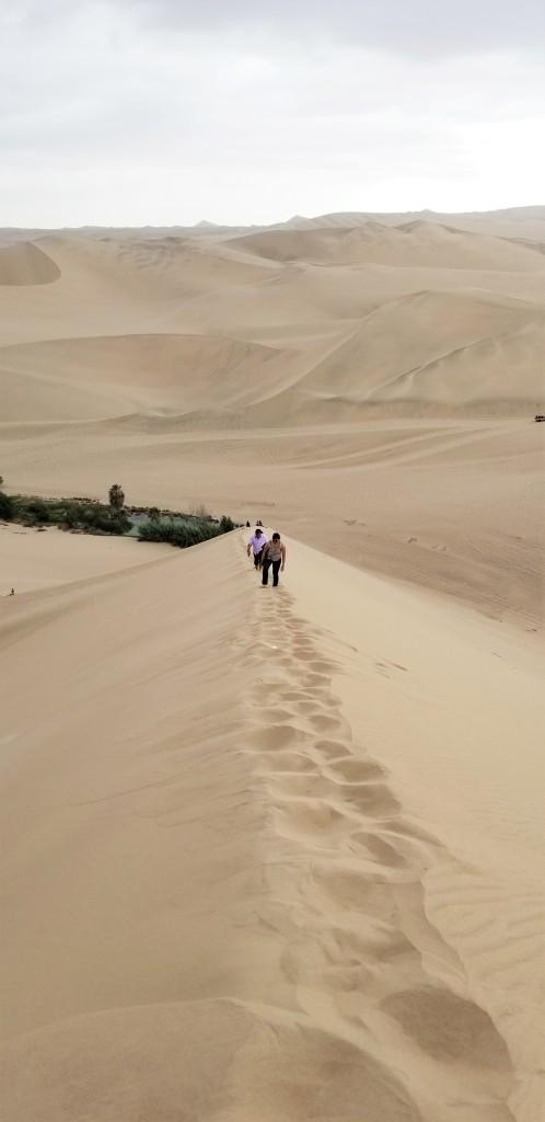 Huacachina sand dune