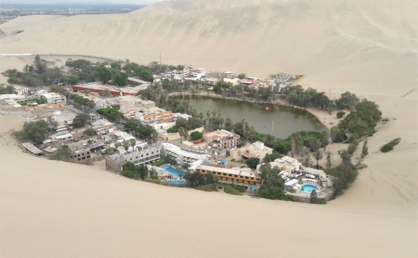 High sand dune, lowlagoon