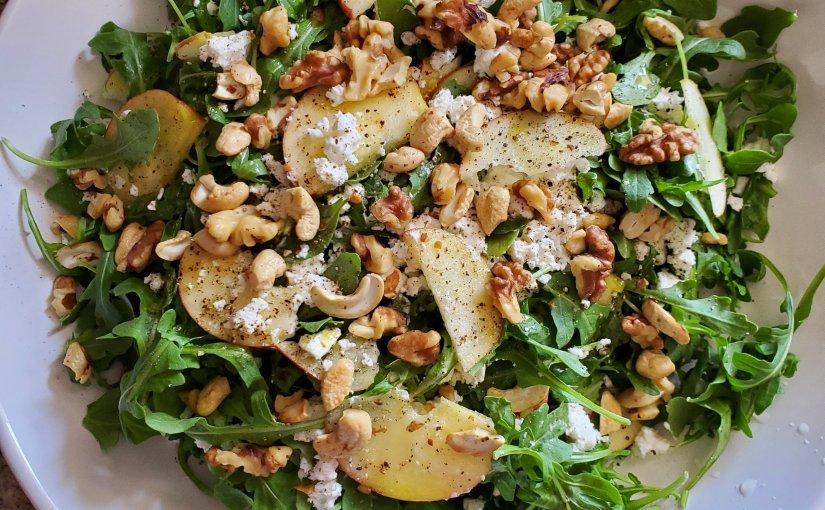 Apples in salad